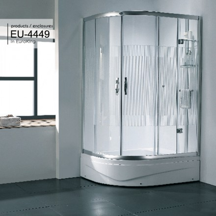 Bồn tắm vách kính Euroking EU-4449