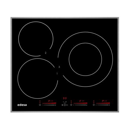Bếp từ 3 vùng nấu Edesa EIM 6330 B